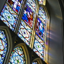 Window at St. Mary's Cathedral