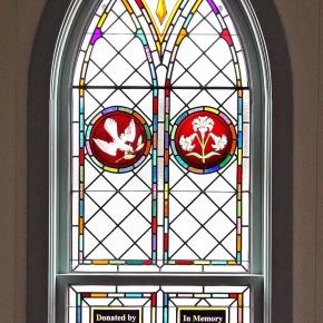 St. Linus Nave window