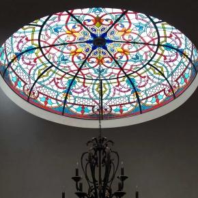 Oblique Moorish Dome